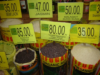 Traditional Philippine Rice Varieties