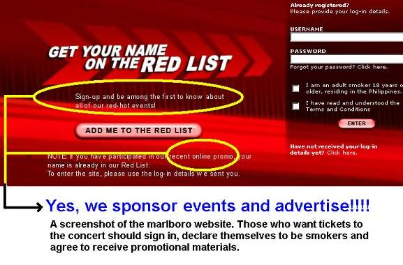 Phillip Morris Defies Advertising Ban. Insults All Filipinos