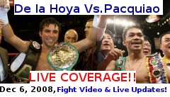 Pacquiao vs De la Hoya