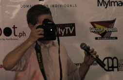 Matt takes photos of the participants