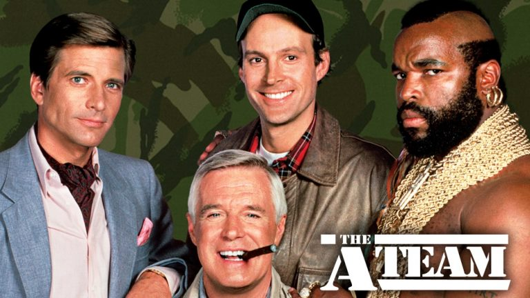 "BAD ASS HEROES IN ""A-TEAM"""