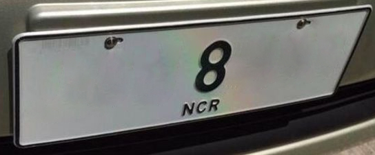 These Low Numbered (Protocol) Plates In The Philippines